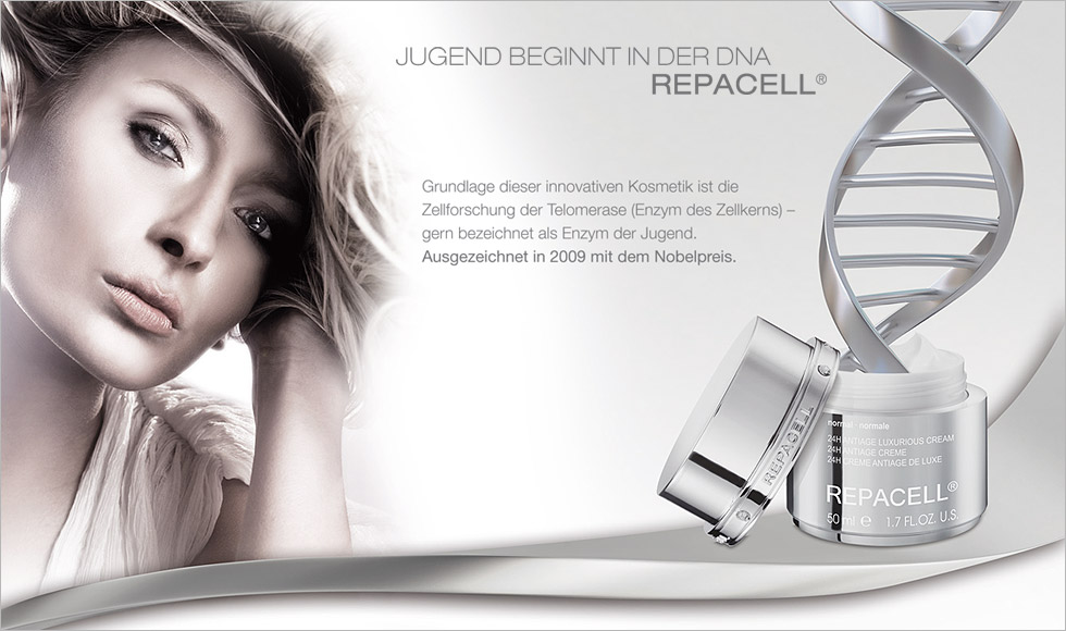 Repacell Treatment bei mc cosmetic